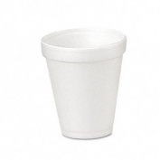 DART Conex Translucent Plastic Cold Cups, 150ml, 2500/Carton