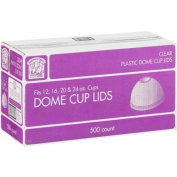 12/16/20/710ml Dome Cup Lids - 500ct