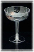 Plastic Disposable Margarita Glasses - 24pcs