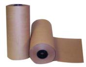 Boardwalk KFT2440900 900' Length, 61cm Width Kraft Paper Roll