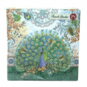 Punch Studio Luncheon Napkins- #53664 Royal Peacock