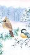 Winter Birds Guest Napkin