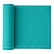 MYdrap SA21/504-1 Cotton Luncheon Napkin, 20.1cm Length x 20.1cm Width, Turquoise