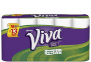 Viva Choose-A-Size Big Roll (1.25X Regular), 1 Ply, White, 10 ct
