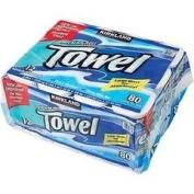 Kirkland Signature Premium Big Roll Paper Towels 12-roll, 80 Sheets Per Roll