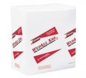 Kimberly-Clark 31.8cm X 36.6cm White Wypall X80 1/4 Fold Towels