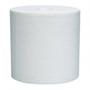 WYPALL L30 Wipers, Centerpull Roll, 9 4/5 x 15 1/5, White, 300/Roll