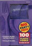 New Purple Big Party Pack - Forks PurpleCount