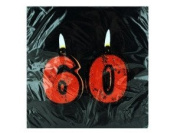 Get Lit 60th Birthday Lunch Napkins 18 Per Pack