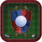 Tee Time Golf Din Pl Shaped