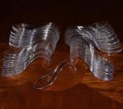 Asian Spoon - Plastic Horderve or Dessert spoon - Package of 50
