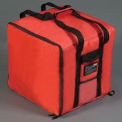 Rubbermaid Commercial FG9F3900RED Proserve Nylon Pizza Catering Professional Delivery Bag, Red