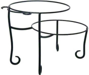 American Metalcraft TLSP1219 Wrought Iron Pizza Stand