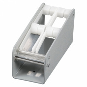 DayMark 112459 2-Slot Plastic Label Dispenser Rack, For 1 Roll of 1.9cm ,2.5cm , 1-1.3cm or 2.2cm Labels