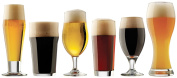 Libbey Craft Brew Sampler Clear Beer Glass Set, 6-Piece