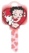 Betty Boop & Pudgy Schlage House Key