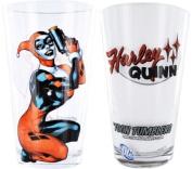 Harley Quinn Toon Tumbler Pint Glass
