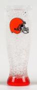 Clevland Browns 470ml crystal freezer pilsner - Cleveland Browns