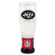 Duck House CSY-9413125119 New York Jets NFL Crystal Pilsner Glass