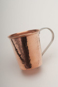 Sertodo Copper Moscow Mule Mug, 18-20-Ounce, Hammered Copper