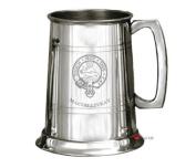 MacGillivray Clan Crest Tankard 1 Pint Pewter