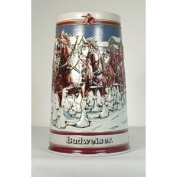 1989 BUDWEISER SPECIAL EDITION HOLIDAY STEIN - #CS-89 - WINTER'S EVENING