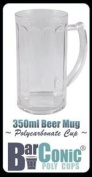 350ml BarConic® Polycarbonate Panelled Beer Mug