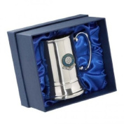 Football Club Tankards-Manchester City 'The Citizens' Football Club Stainless Steel Tankard