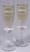 Jamie Lynn Western Collection Toasting Flutes, Set of 2
