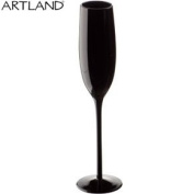 Midnight Black Champagne Glass
