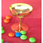 24 Mini Plastic Champagne Cups Glasses Wedding Favour Gold