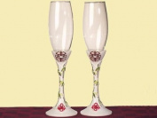 Wedding Favours Double Happiness Collection Toasting Flutes