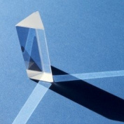 Midwest Educational Products, Inc. - Glass Prism Functional prism for experiments with light