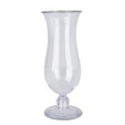 GET HUR-1 (HUR1) 440ml Polycarbonate Hurricane Glass Clear