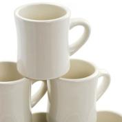 Diner Coffee Mugs Set of 6