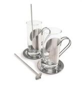 Set of 2 Irish Coffee Glasses by Cuisinox