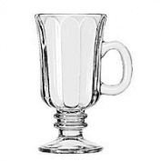 Libbey 5294 240ml Irish Coffee Mug with Optic Design (5294LIB) Category