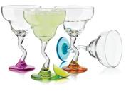 Libbey Colours Margarita Glass Set, 4-Piece
