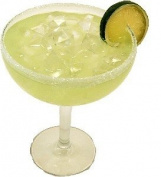 MARGARITA WITH ICE GLASS Fake Drink