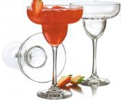 Libbey 380ml Midtown Margarita Glass, Clear, 4-Piece
