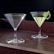 EMI-MM2 60ml 2-Piece Mini Martini Glasses 120/Case