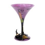 Wicked Witch Halloween Martini Glass