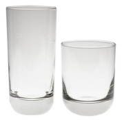 Libbey Polaris Drinking Glasses and Tumblers, Set of 16