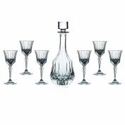 Lorren Home Trends RCR Adagio Wine Set, 7-Piece