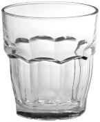 Bormioli Rocco Rock Bar Stackable Double Old Fashioned Glasses, Set of 6