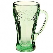 Green Coca-Cola Glass - 430ml Genuine Mug by Libbey