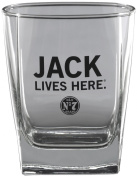 Jack Daniel's Licenced Barware Jack Lives Here Double Old Fashioned Glass