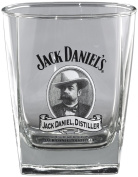 Jack Daniel's Licenced Barware Cameo Double Old Fashioned Glass