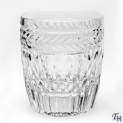 SYMPHONY SET OF 4 CRYSTAL DOUBLE OLD FASHIONED GLASSES