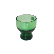2-1.3cm Glass Sake Cup Green